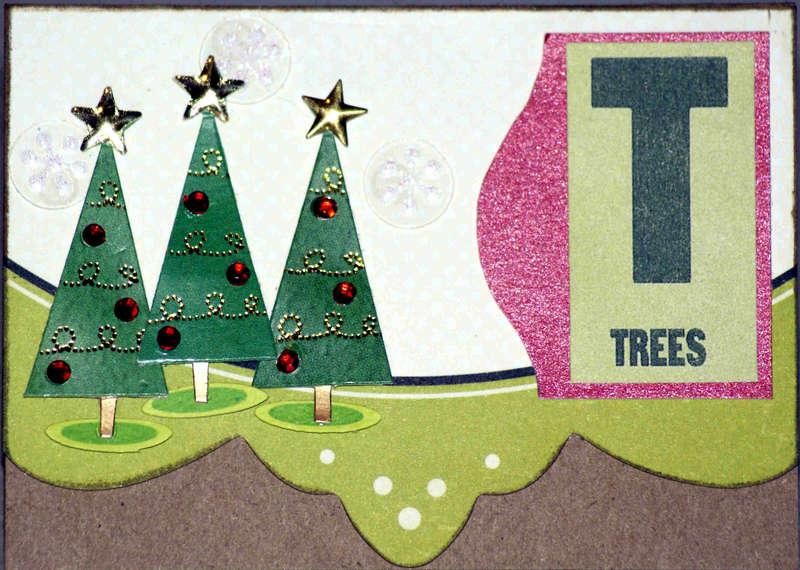 Trees Christmas Card