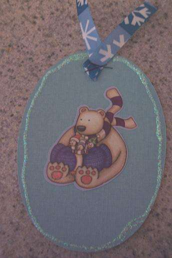 Oval winter tag for Shape Swap