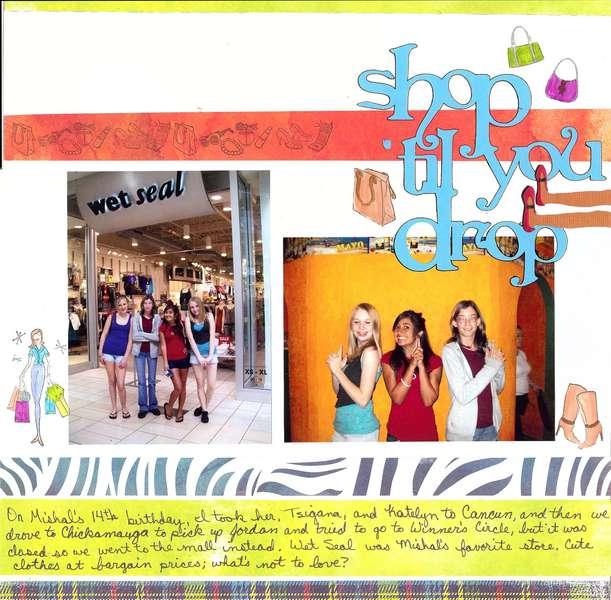 Shop 'til you drop