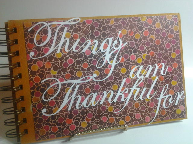 Things I am Thankful for mini