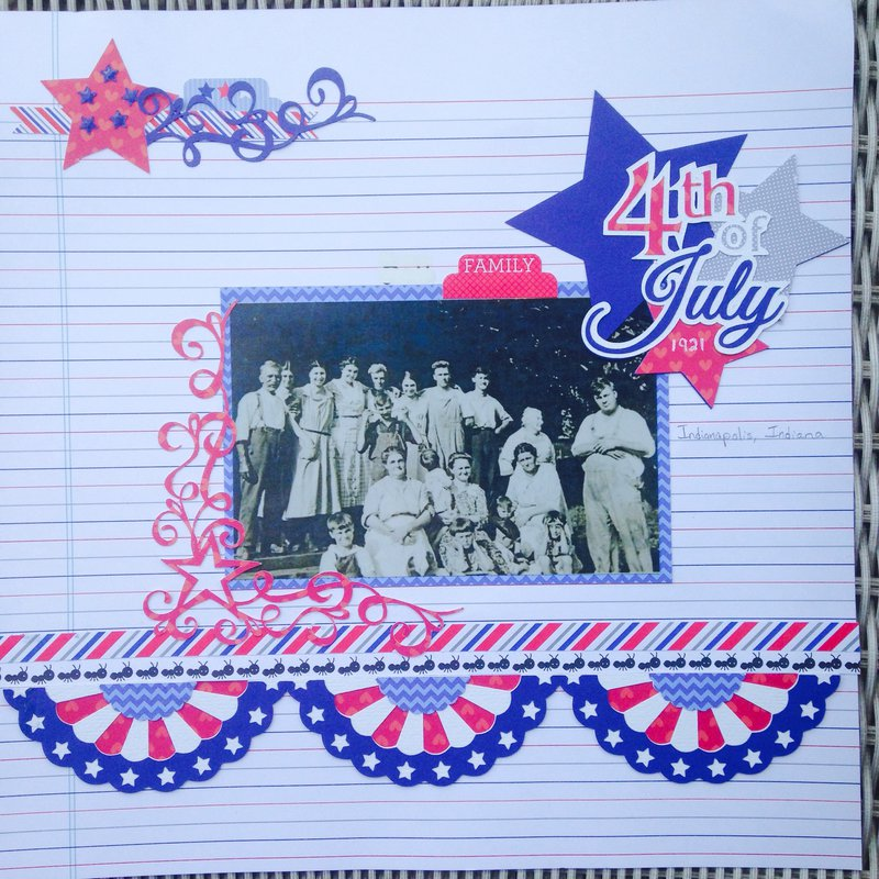 Bell family fourth of July 1921
