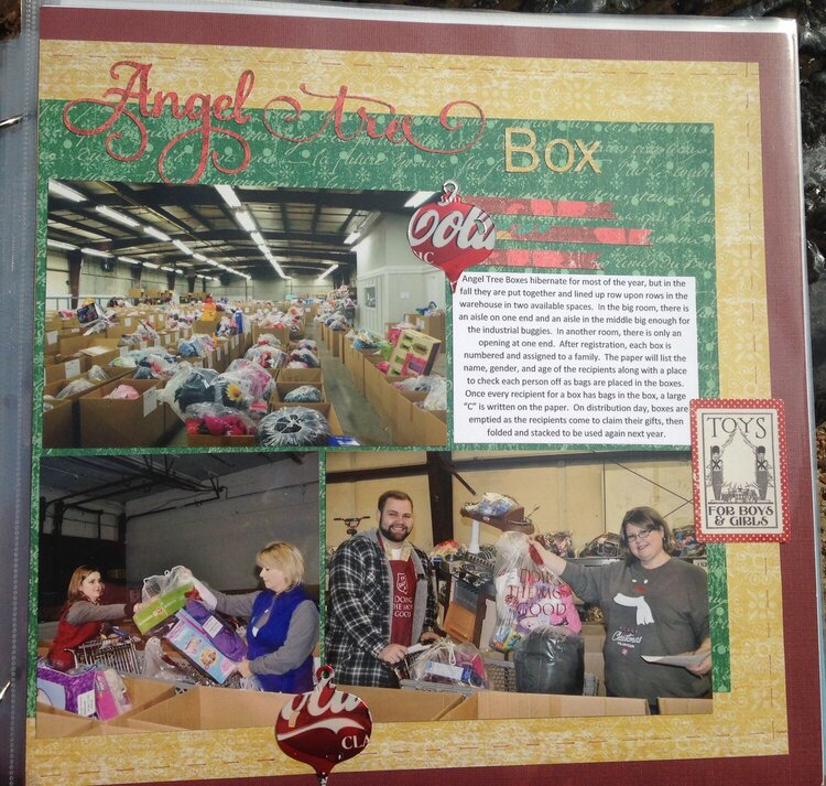 A year in the life of an Angel Tree box