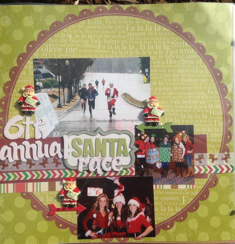 6th annual Santa Race