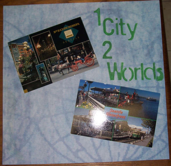 1 City 2 Worlds