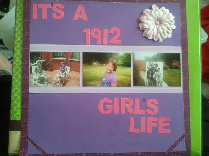 It's A 1912 Girl's Life