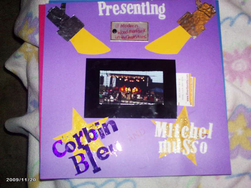 Presenting Corbin Bleu and Mitchel Musso
