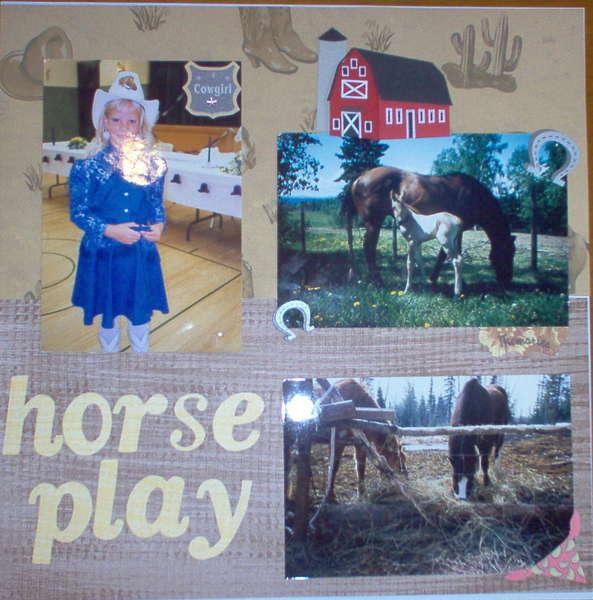 Horse Play #1