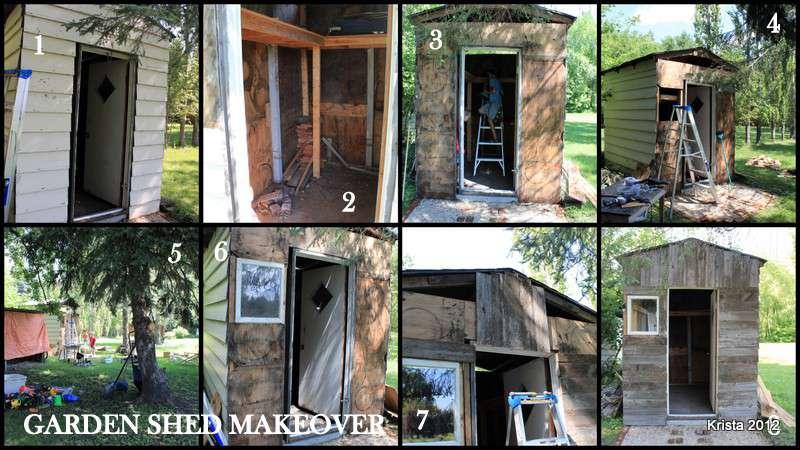 POD #4 - Garden Shed Makeover