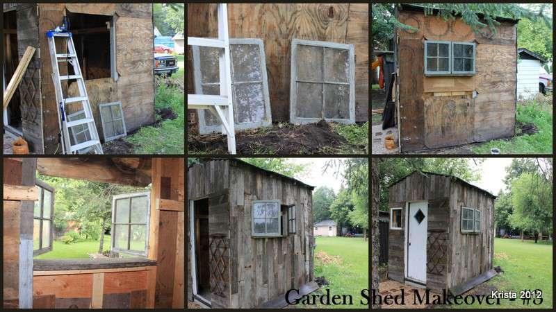 POD #6 - Garden Shed Makeover - Part 3