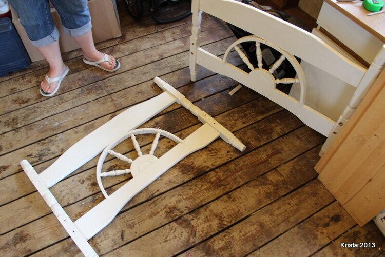 POD #2 Old bed frame