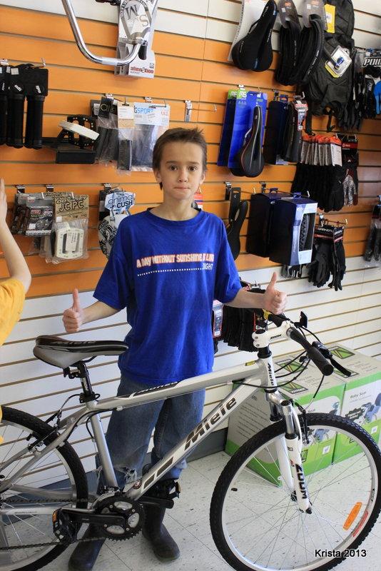 POD #1 - Cody's new Bike