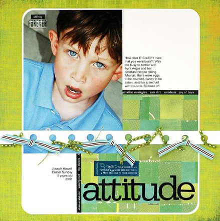 Boy Attitude