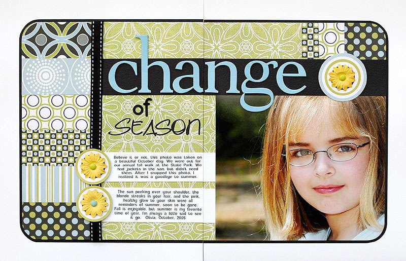 Change of Season - HOF 2006