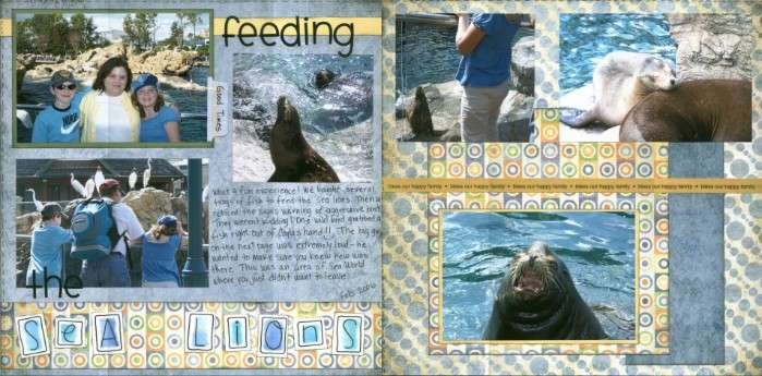 Feeding The Sea Lions *Sea World*