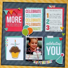 Celebrating You **Simple Stories DT**