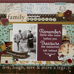 Family Memories **Simple Stories DT**