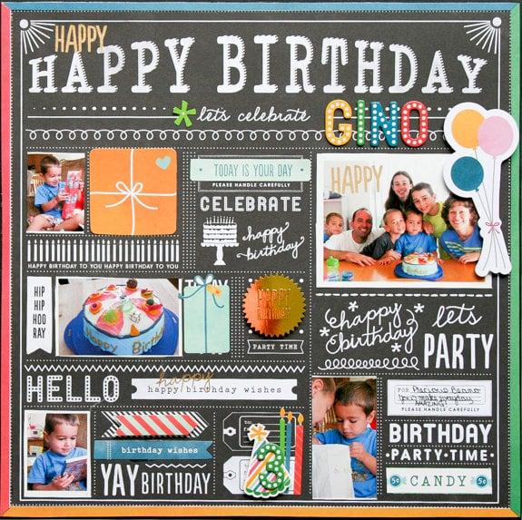 Gino's Birthday Recap