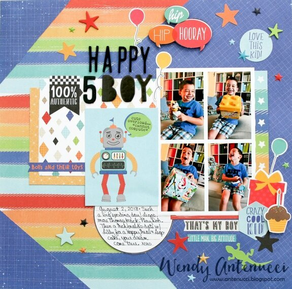 Simple Stories Collection Kit 12X12-Lil Dude