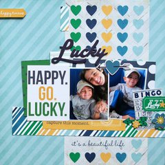 Happy Go Lucky **Simple Stories DT**