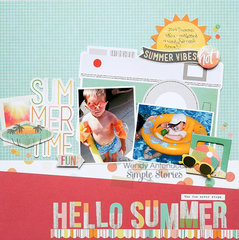 Hello Summer **Simple Stories DT**