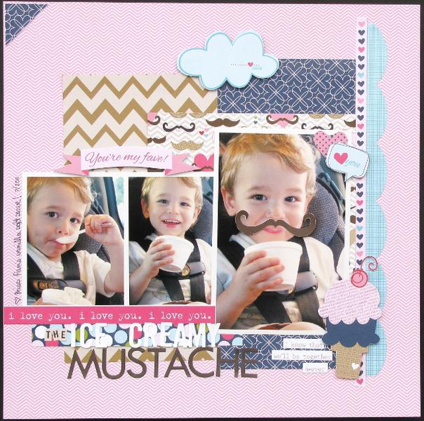 Ice Cream Mustache  **Bella Blvd**