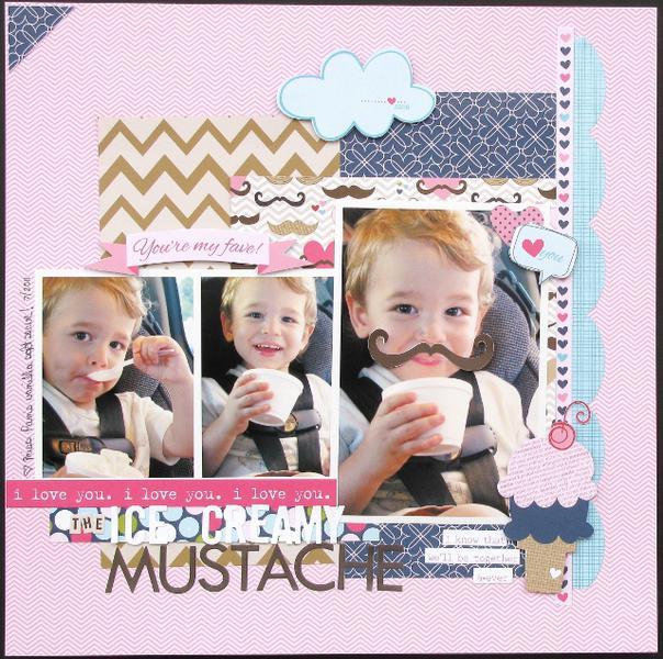 Ice Cream Mustache  **Bella Blvd**