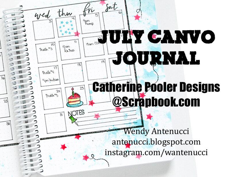 July Canvo Bullet Journal