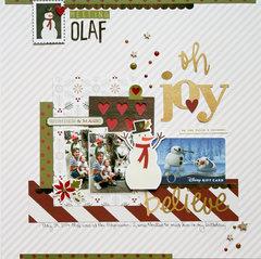 Meeting Olaf **Simple Stories DT**
