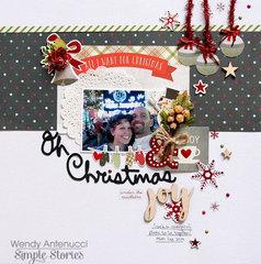 Oh Christmas Joy **Simple Stories DT**