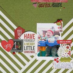 Santa Baby  **Simple Stories DT**