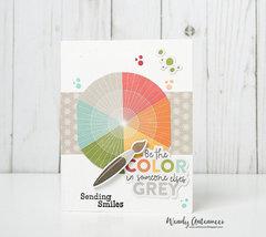 Sending Smiles card