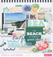 Sun, Sea, Surf