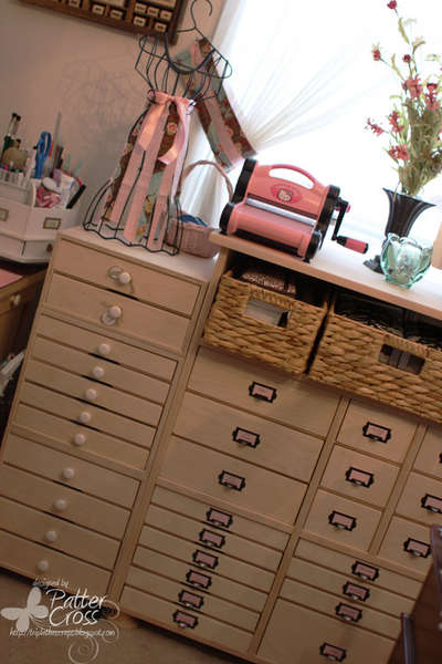 Apothecary Cabinet from Scrap 'n Cube