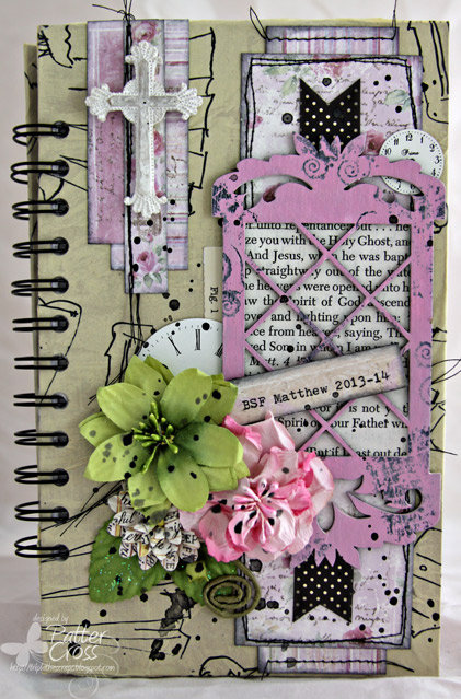 BSF Notebook {Blue Fern Studios}
