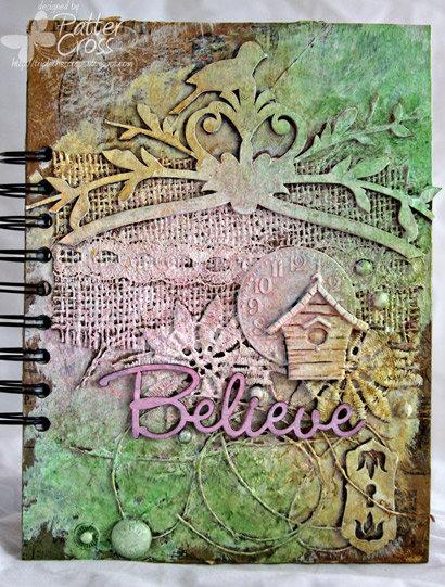 Believe Journal {Blue Fern Studios}