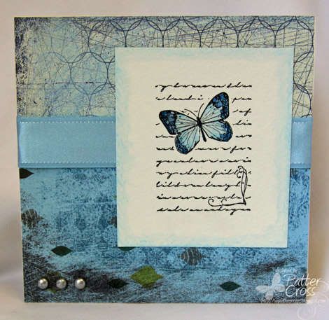 Butterfly Card {Memory Box Co.}