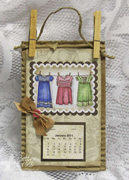 Three Dresses Calendar