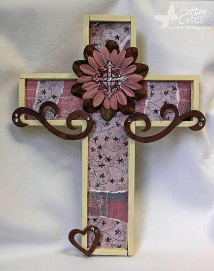 Wooden Cross {Layers of Color}