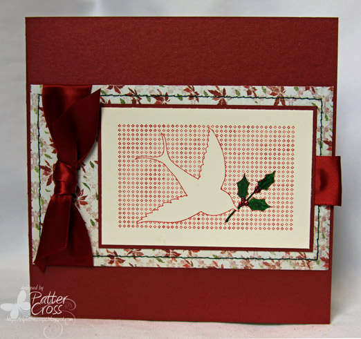 Dove and Holly Notecard