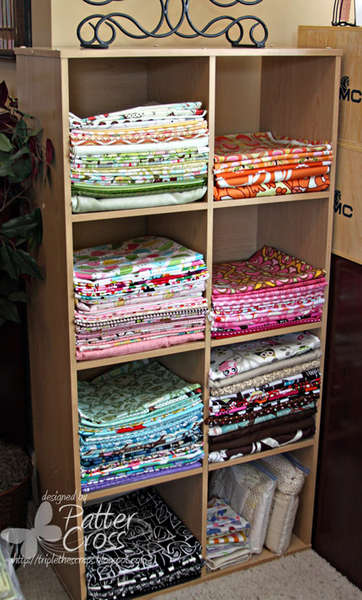 My Fabric Storage
