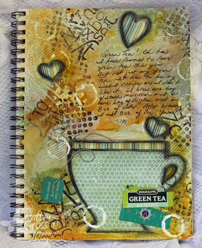 It's All About Tea {Art Journaling}