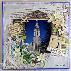Keep Faith {Blue Fern Studios}