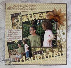 Like Father Like Daughter {ODBDLYLS2}