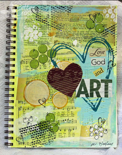 Love Art {Art Journaling}