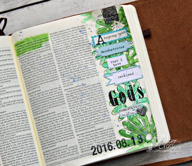 Glory {Art 2016} Scripture Challenge #8, Hurt and Forgiveness