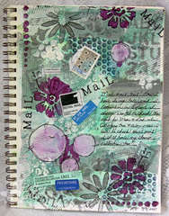 Mail & Envelope Background {Art Journaling}