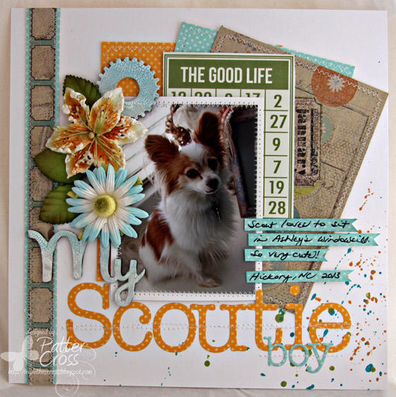 My Scoutie Boy {Memory Box}