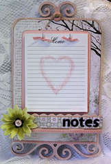 Love Note Memo Board