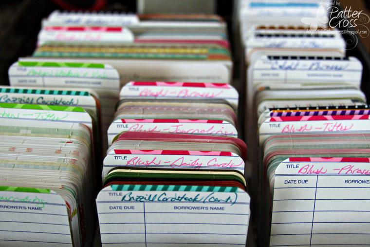 Card Storage for Project Life, Simple Stories, Etc.