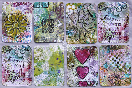 Art Journaling Cards